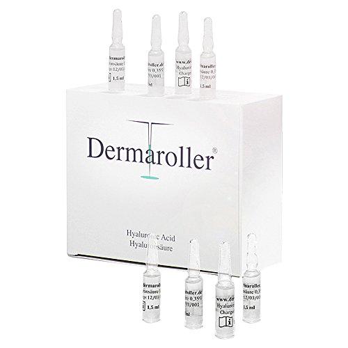 Dermaroller - Acido ialuronico 0,35%, fiale da 1,5 ml, confezione da 1 (1 x 30 pezzi )