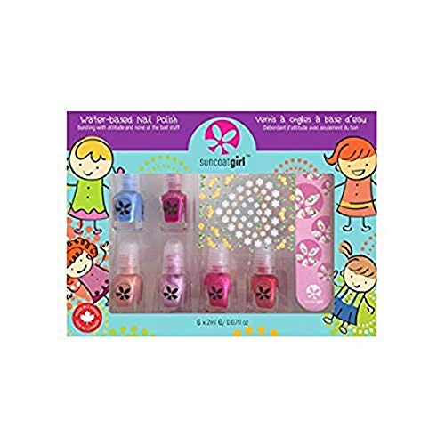 Suncoat Girl Mini Mani Kit di Manicure per bambino