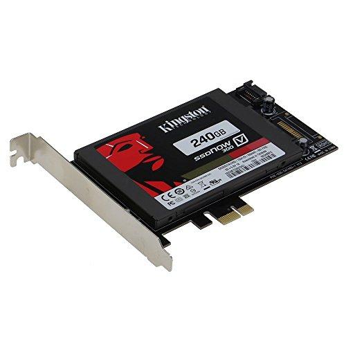 SEDNA-PCI Express (PCIe) Adattatore per SATA III (6G) SSD con 1 porta SATA III (con circuito elettrico, non necessita di connettore SATA, perfetto per Mac) SSD non incluso