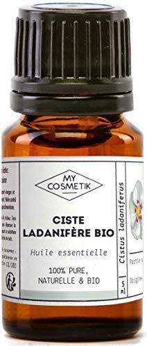 Olio essenziale di cisto ladanifero Organico - MyCosmetik - 2 ml