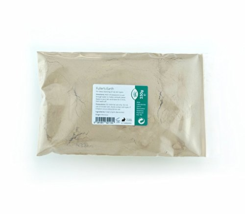Fullers Earth fine polvere 250 g – Pure & Natural Calcium Bentonite