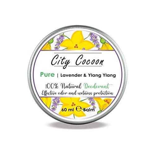 Balsamo deodorante naturale Puro   Lavanda + Ylang Ylang   Uomo & donna   100% senza crudeltà sugli animali   Senza alluminio, parabeni & plastica   Prodotto nell'UE   60 ml