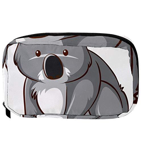 Sacchetti per cosmetici carino e divertente Australia Koala Handy Toiletry Travel Bag Oragniser Makeup Pouch per donne e ragazze