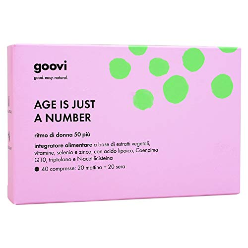 The good vibes company srl Goovi - Age is Just a Number - Ritmo di Donna 50 più