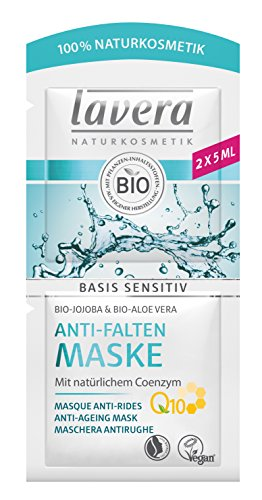 Lavera Basis Sensitiv Maschera Antirughe Q10 - 10 ml.