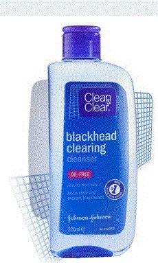Clean & Clear Blackhead Cleanser oil free 200ml (3confezioni)