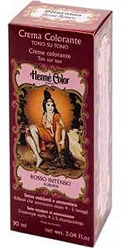 Henne Nuance, Crema colorante Rosso intenso auburn, 90 ml