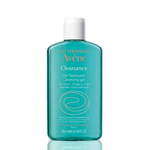 Avene Cleanance Gel Detergente per Viso e Corpo, 200 ml