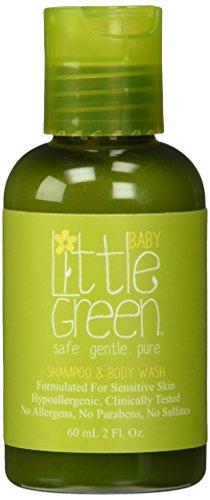 Little Green Shampoo & Body Wash Baby - Shampoo & Bagnoschiuma 2In1 Per Neonati - 60 Ml