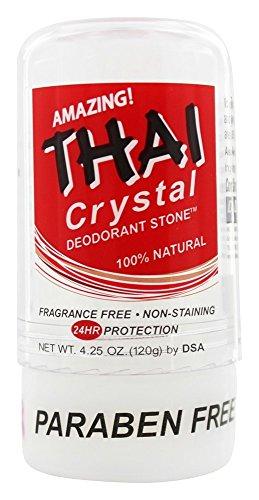 Thai Deodorant Stone - Deodorante in stick a cristallo naturale tailandese - 4.25 Once