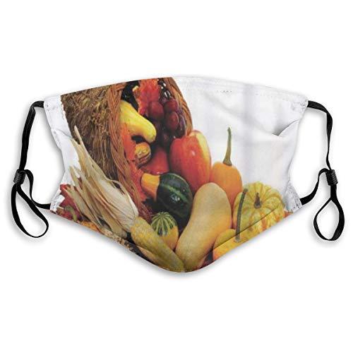 Bandana riutilizzabile a mezza faccia,Bandana riutilizzabile a mezza faccia, raccolta di varie verdure su cipolle da tavola in legno rustico, patate, zucchine, pomodorin,Coprivaso sportivo regolabile