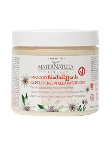 Maternatura Impacco Capelli Rivitalizzante alla Passiflora, Beauty Routine Capelli Crespi - 200 ml