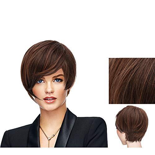 Hairdo Parrucca Angled Cut Castano Medio Rubino