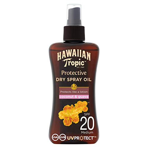 Hawaiian Tropic PROTECTIVE DRY SPRAY OIL SPF 20-200 ml