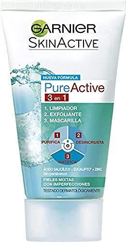 Garnier Struccante, Pure Active 3-In-1 Cleansing Gel, 150 ml