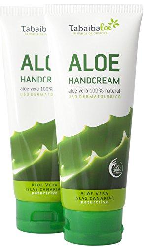 Crema Mani Aloe Vera 100 ml Confezione 2x1 Tabaibaloe
