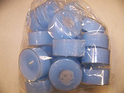Danese lumini in colore AZZURRO (Baby Blue), Acrilico-cup, imballaggio unità 20 pcs