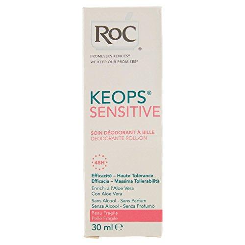 Roc Keops Deodorante Rollon Pelle Fragile - 30 ml