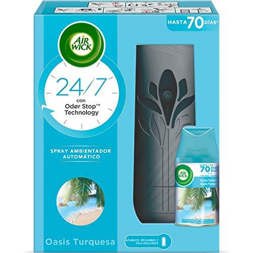 Air-Wick Freshmatic Deodorante per Ambienti Oasis Turq Completo - 250 ml