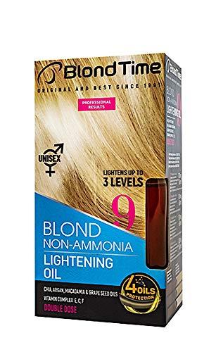 Olio schiarente per capelli, schiarisce fino a 3 livelli, Decolorante per capelli senza ammoniaca, 180 ml