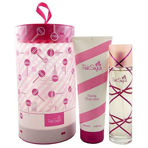 Aquolina Pink Sugar Set 100 ml Eau de Toilette EDT & 250 ml Körperlotion BL