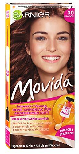 Garnier toenung Movida Cura della Crema/Intensiv Tinta del colore dei capelli (di colori brillanti, anche per capelli grigio, senza ammoniaca) capelli colorazione Set