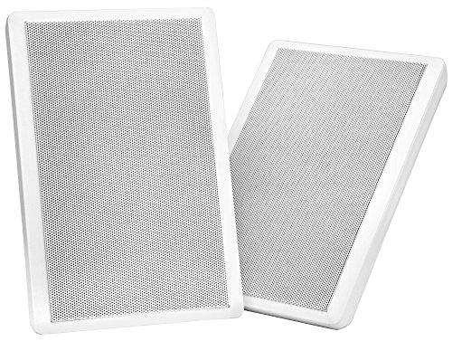 Pronomic FLS-540 WH coppia altoparlanti da muro Flatpanel bianchi 100 Watt