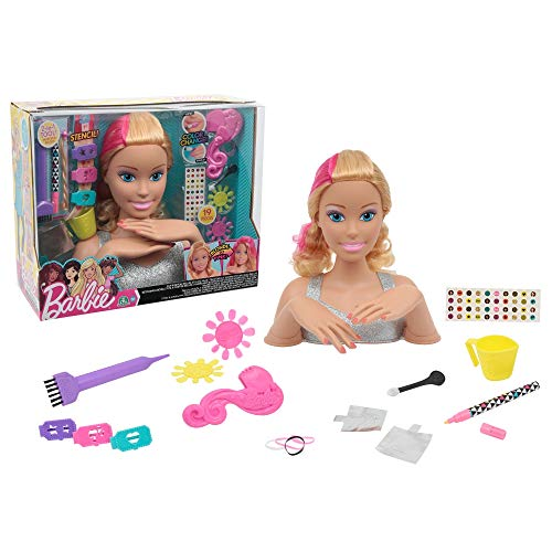 Giochi Preziosi Barbie Styling Head Magic Look per Bambini, Multicolore, BAR19000