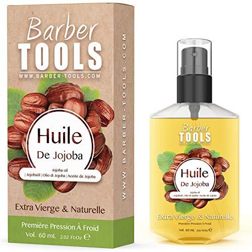 OLIO DI JOJOBA | 100% puro, naturale e spremuto a freddo | Viso, corpo, capelli, barba, unghie | Olio di jojoba | (60ml)