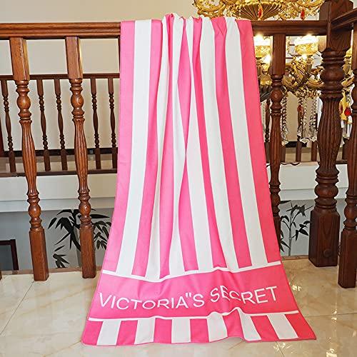 Ruimcc Telo mare ,70X150 cm, 100% cotone, Sottile Teli Asciugamano Mare con Elastici Estathe, Asciugamano da Spiaggia One Piece (2, 70 X 150 cm)