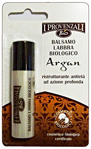 Balsamo Labbra Vegetale all'Olio di Argan I Provenzali Bio