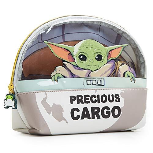 Star Wars Baby Yoda Beauty Case Uomo E Donna, Grande Pochette Da Viaggio The Mandalorian, Idea Regalo Di Natale Originale Per Ragazza E Ragazzo