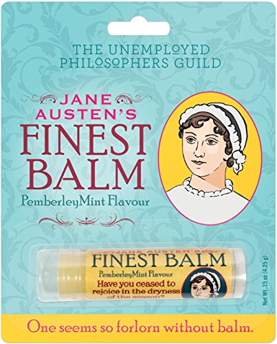 The Unemployed Philosophers Guild Jane Austen's Finest Balm - Lip Balm - Made in The USA by