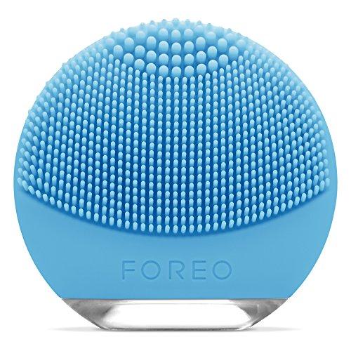 FOREO LUNA go spazzola esfoliante per il viso con funzione anti età per Pelli Miste, Ricaricanile tramite USB e completamente impermeabile