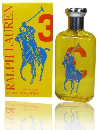 Big Pony Collection For Women N° 3 di Ralph Lauren – Eau de Toilette Spray 100 ml, profumo da donna