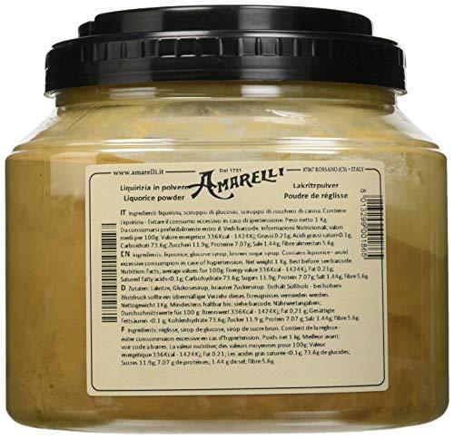 Liquirizia Amarelli Liquirizia in Polvere - 1000 gr