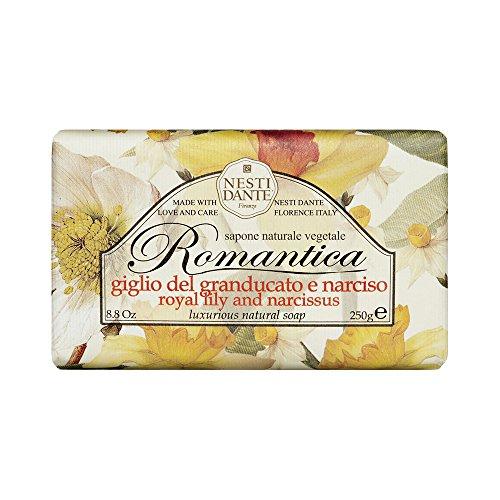 Nesti Dante Romantica Lily Narciso e sapone, 250 g