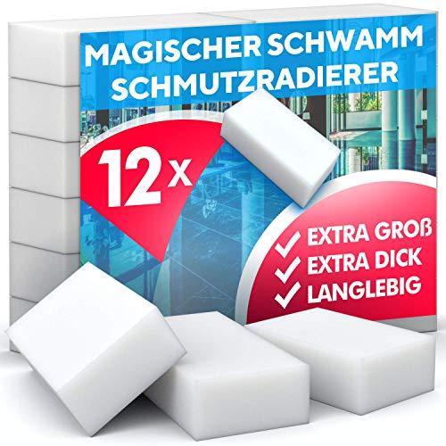 Magic Dirt Eraser - Spugna per cancellare lo sporco, ad alta densità – Spugna Nano melammina, pulizia solo con acqua, forte potere pulente, universale, per Magic Dirt Eraser