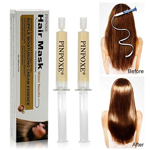 Maschera capillare, Maschera per capelli, maschera per capelli ricca di olio di argan per riparare capelli secchi, danneggiati o ricci, adatti a tutti i tipi di capelli