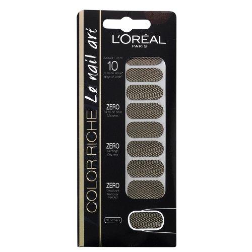 L'Oréal Paris, Smalto adesivo Color Riche, 010 Gold Lingerie
