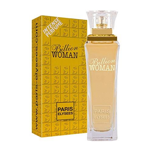 Billion Woman Parfum 100ml Femme/Donna Paris Elysees
