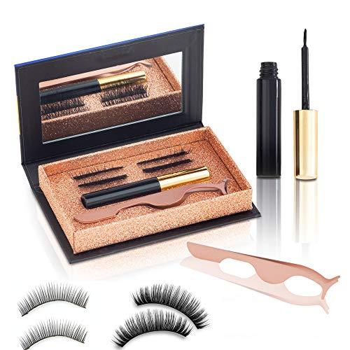 Ciglia Magnetiche Con Eyeliner Novità Assoluta 2 Tipologie Di Ciglia Finte Professionali Naturali Riutilizzabili Con Eye Liner Di Qualità Facili Da Applicare Packaging Innovativo Box Regalo 2020