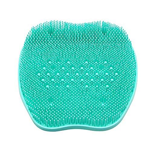 Spazzola a pedale in silicone Spazzola a pedale per doccia Massaggiatore a pulizia profonda Spa esfoliante aumenta la circolazione