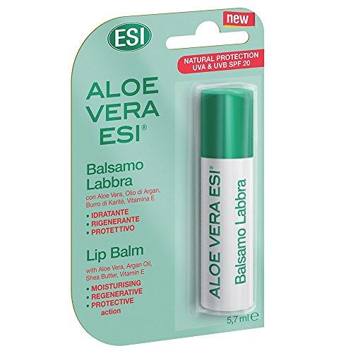 Esi Aloe Vera Stick Per Labbra SPF 20-180 gr