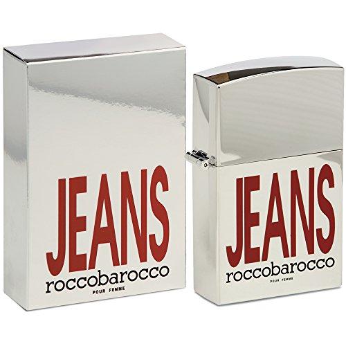 Roccobarocco, Rocco Barocco Jeans Ultimate, Eau de Parfum da donna, 75 ml