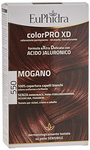 Euphidra Colorpro Xd Colorazione Permanente con Acido Jaluronico - Mogano- 190 g