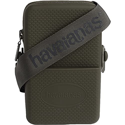 Havaianas, Street Bag Unisex-Adulto, Verde militare, Normal