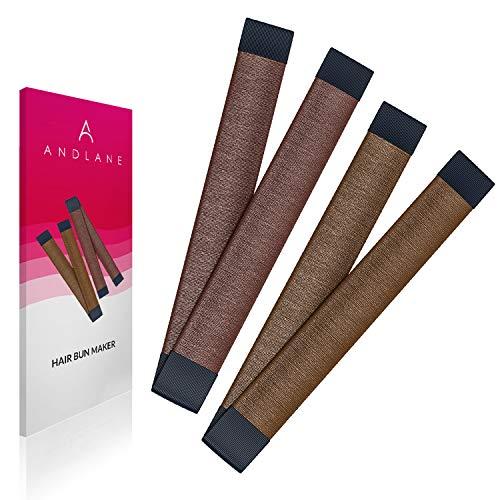 Capelli, chignon French Twist Hair fold Wrap Snap Andlane (1 marrone, 1 marrone chiaro) …