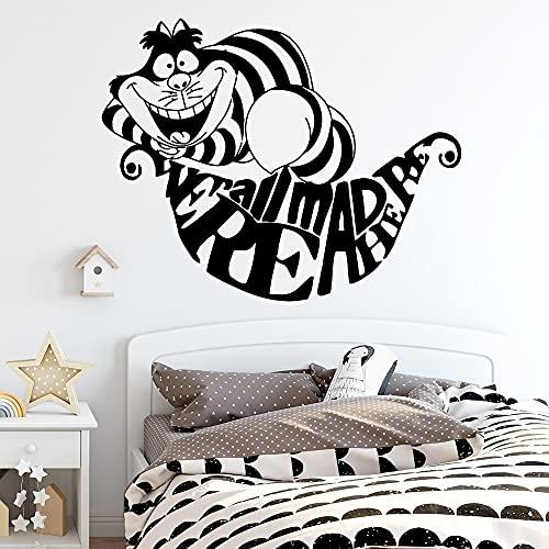Bella famiglia di gatti adesivi murali murale artista decorazione della casa soggiorno camera da letto adesivi decorazione murale adesivi murali in vinile -77.4x97.2cm