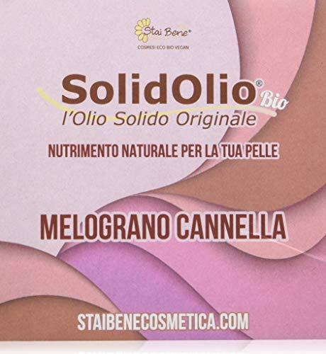 StaiBene Olio Solido Solidolio Melograno Cannella - 100 gr